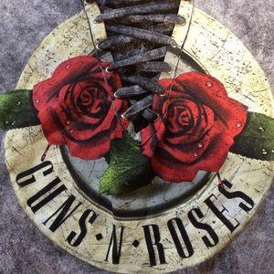 Tops - 🌹 Guns N Roses 🌹 Lace Up Shirt
